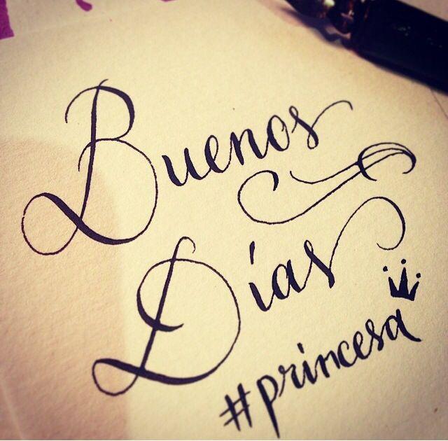 Buenos días princesa!!! Te adoro!!!! Muchisisisisimoooo | Citas ...