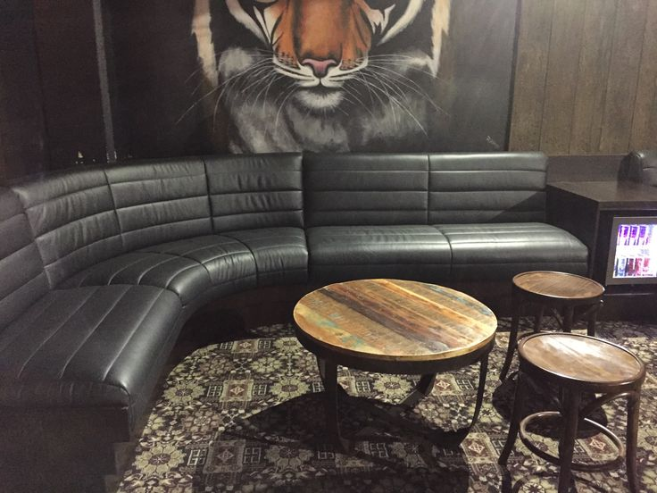 Curved Custom banquette