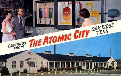 Greetings from the atomic city.