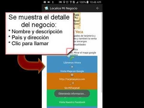 Video - Cómo Buscar Un Negocio Por Busqueda de Categoría - http://nessware.net/video-como-buscar-un-negocio-por-busqueda-de-categoria-app-localiceminegocio/