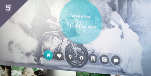 ThemeForest - Wedding vow - html responsive template