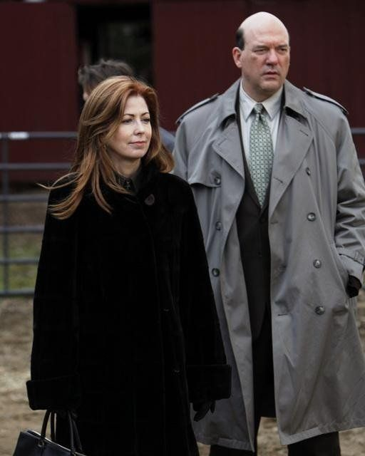 Still of Dana Delany and John Carroll Lynch in Body of Proof (2011)