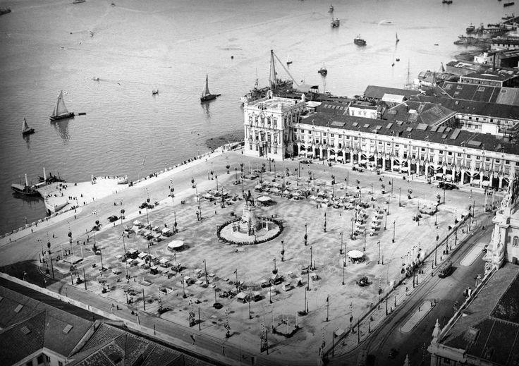 Festas da cidade, Terreiro do Paço, Lisboa, 1931