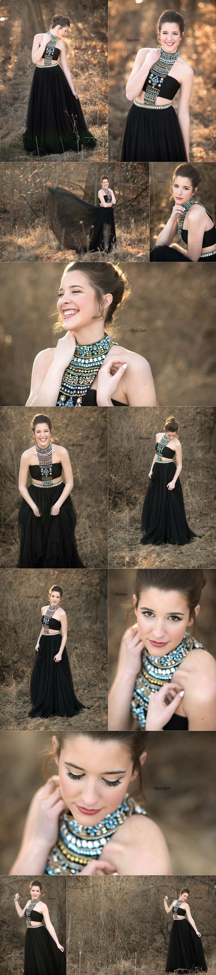 Senior Pictures | Alyssa Layne Photography | Prom Dress | Senior Pose | Posing | Class of 2016 | Illinois Photographer