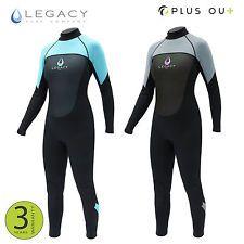Legacy 3/2mm Womens Full Wetsuit Surf Ladies Steamer Swim Long Wet Suit XS-L