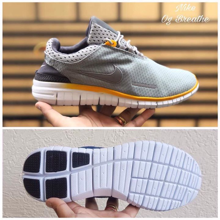 #Nike.  #For_Men.  #7A_Quality.  #Og_Breath_Grey.  #Running_Sport_Shoe.  #Euro_41To_Euro_45.  #Available @ Rs 1555/- Rupees +Ship (With Nike Box)  Size Chart 👇🏻 EURO 41 - UK 7 EURO 42 - UK 7.5 EURO 43 - UK 8.5 EURO 44 - UK 9 EURO 45 - UK 10.5  Key Feature- Light weight 😍
