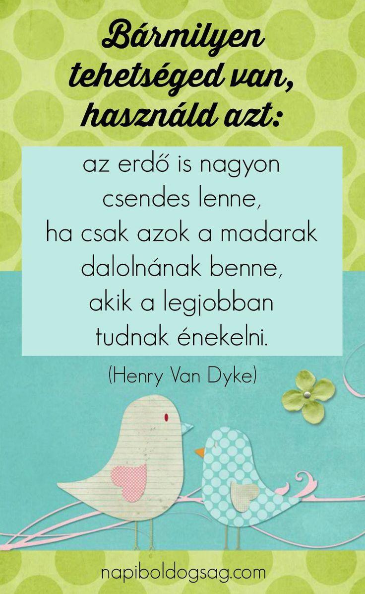 Henry Van Dyke #idézet