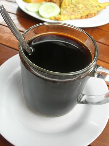Kopi Aceh - Gelas Kopi Indonesia - Indonesian Coffee Cup