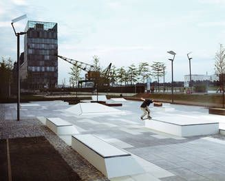 "Endlich Belebung: Skater-Park ""Kap 686"" in Köln-DETAIL.de"