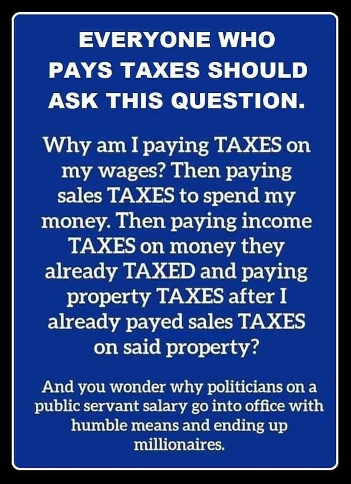 Pin By Anne J On Evil Empire Paying Taxes Political Quotes Financial Advice