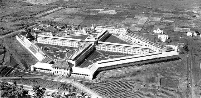 Suka Miskin Prison - Bandung - Indonesia design by CP Wolff Schoemaker and finished in 1920's