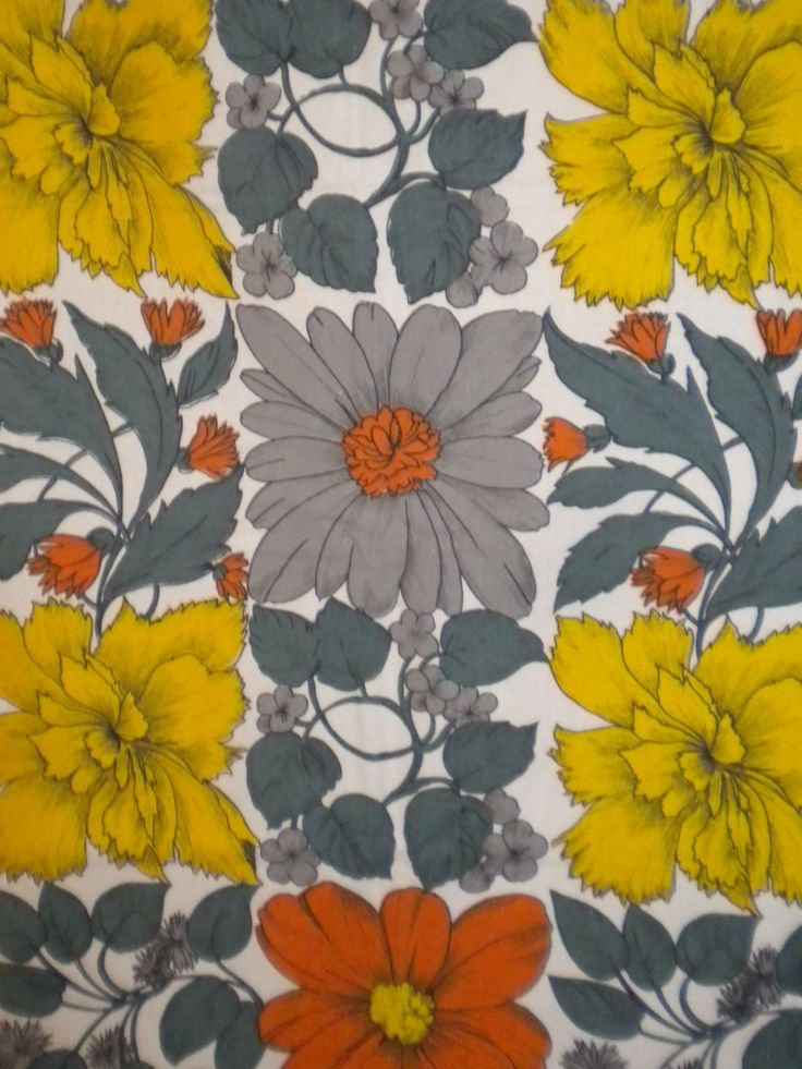 Curtain Design By Alison Wilson 1960s