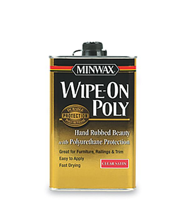 All About Polyurethane Wipe On Poly Minwax It Is Finished