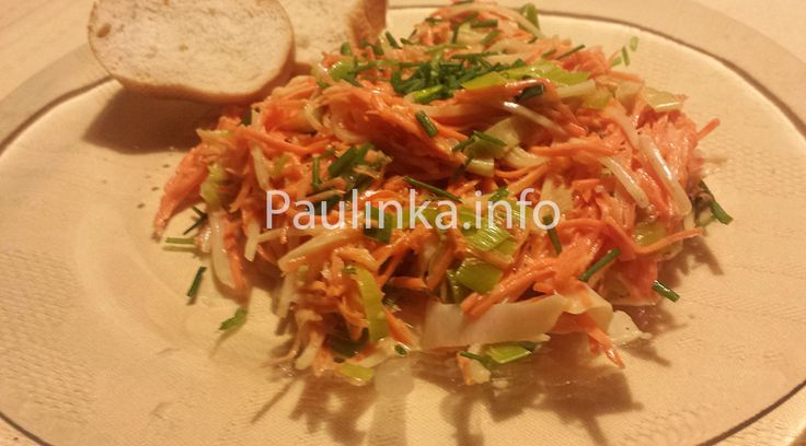 #Leek #Salad with #Carrot and #Celery #recipe