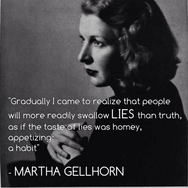 Martha Gellhorn - International War Correspondent & Hemingway's third wife