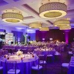 19A-Westin Galleria Wedding, Mad Men Themed Wedding, 1960's Themed Wedding, Purple & Gold Wedding