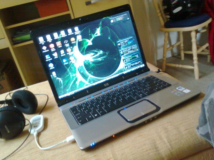 HP Pavilion dv6000 (Falecido), Rodando Gentoo Linux.