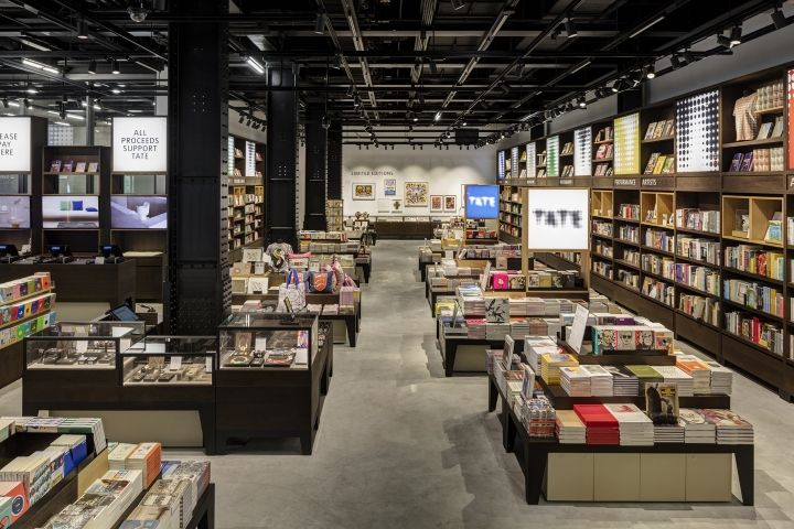 Tate Modern shop extension by UXUS, London – UK » Retail Design Blog