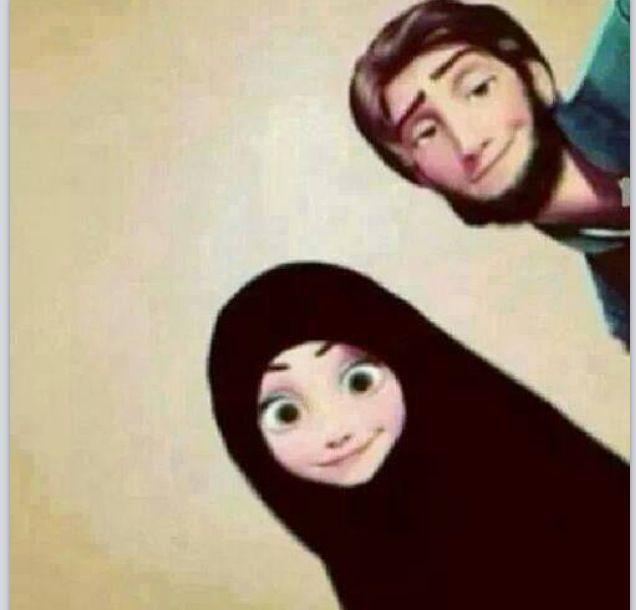 If disney character were Muslim
