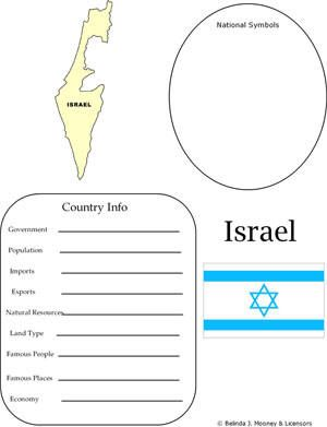 israel map worksheet geography homeschool geog israel unit study pinterest israel. Black Bedroom Furniture Sets. Home Design Ideas