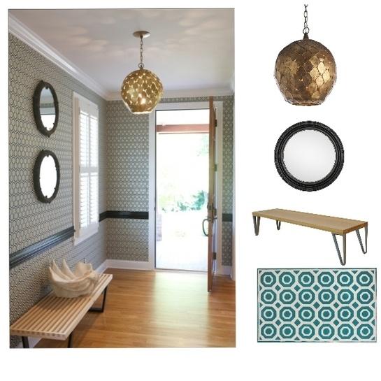 Love the iron pendant lamp: Interiors Inspiration, Decor Ideas, Lights Fixtures, Lights Inspiration, Entry Hallways, Houses Decor, Barnett Interiors, Pendants Lights, Cole Barnetti