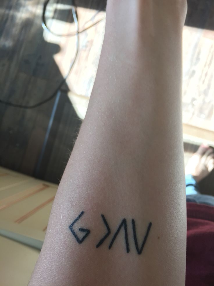 God is greater than my mountains and valleys sweet tattoo for Tattoos that last 2 weeks