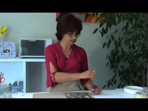 Pébéo - Peinture sur tissu Sétacolor : techniques de peinture avec pochoirs…