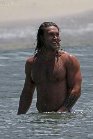 I fell in love with Jason Momoa after seeing him in Game of Thrones!  What an amazing character he played!