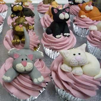 Cupcakes: gatti e gattini dolci per i golosi