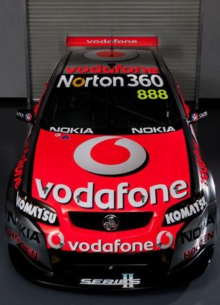 Team Vodafone Holden V8s
