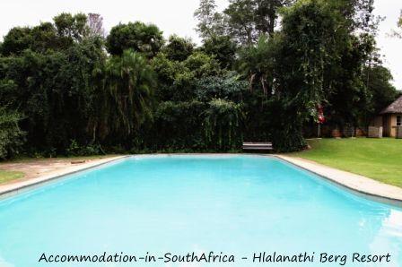 Beautiful pool at Hlalanathi. http://www.accommodation-in-southafrica.co.za/KwaZuluNatal/Bergville/Hlalanathi.aspx
