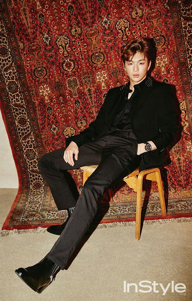 Kang Daniel -  Well.. all I can say is, neither the rug nor the chair would survive what I have in mind. This man is so..   he is not safe for straight women to contemplate. He makes me so frustrated that I want to throw shit..
