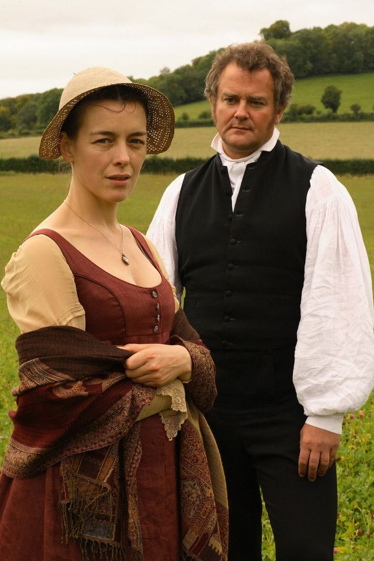 Olivia Williams (Jane Austen) & Hugh Bonneville (Rev. Brook Bridges) - Miss Austen Regrets (TV Movie, 2008)