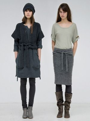 humanoid layering style #minimalist #fashion