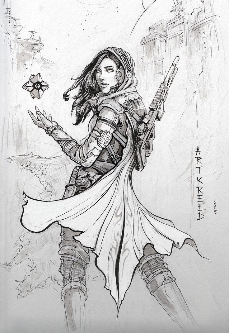 ghoulsverne:   artkreed:   Destiny calls.... | Destiny Awaits