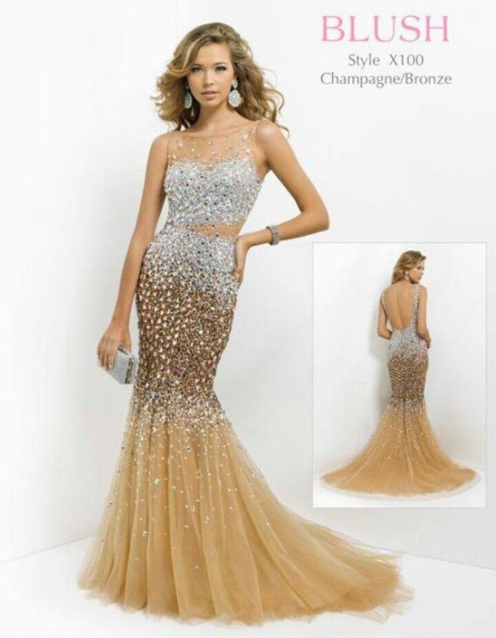 Beautiful Blush prom dress