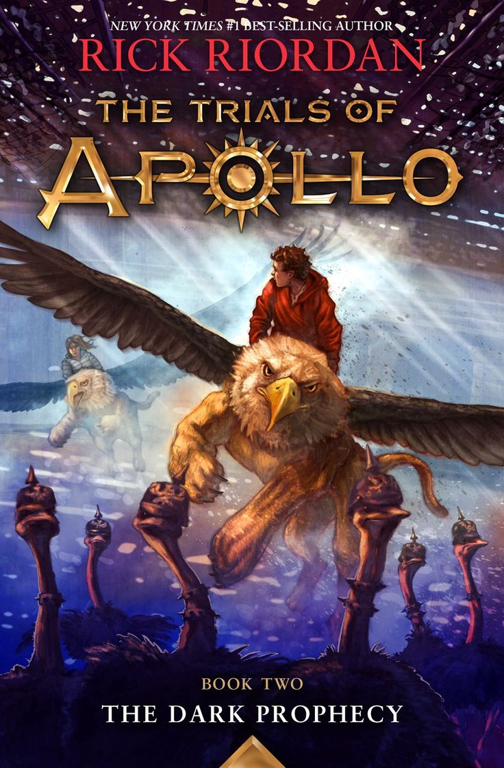 The Dark Prophecy (Trials of Apollo Book 2) - Rick Riordan Apollo, cast to earth as a gawky teenager, must set off on his second set of hilarious trials - to locate the ancient oracles.