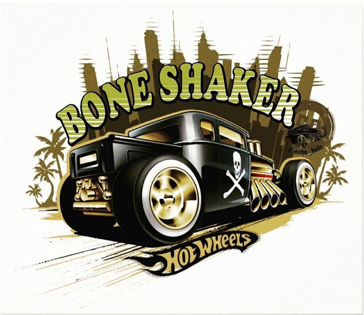 #Boneshaker #hotwheels #bonsha_holic