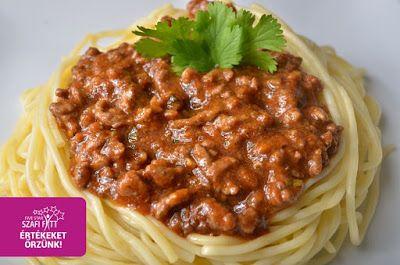 Szafi Fitt diétás bolognai recept (gluténmentes, tejmentes, paleo)
