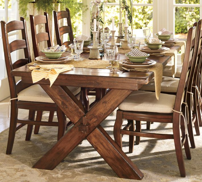 Pottery Barn Kitchen Table Set Part - 19: Why You Should Always Listen to Pottery Barn (a bench story) | Dining Room  | Dining room, Farmhouse Table, Dining