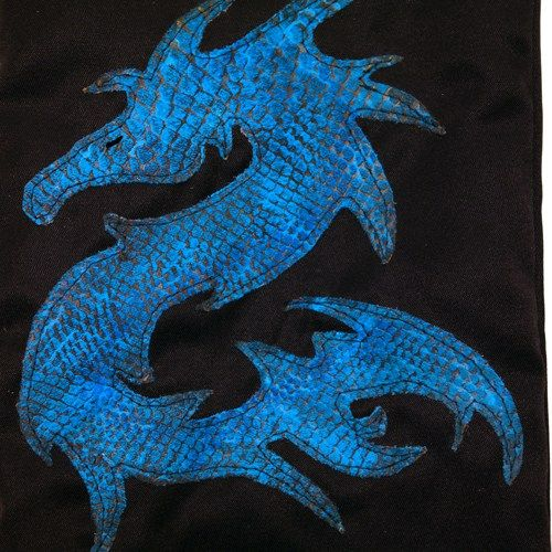 Sac à Vin Blue Dragon de SwagBag Green