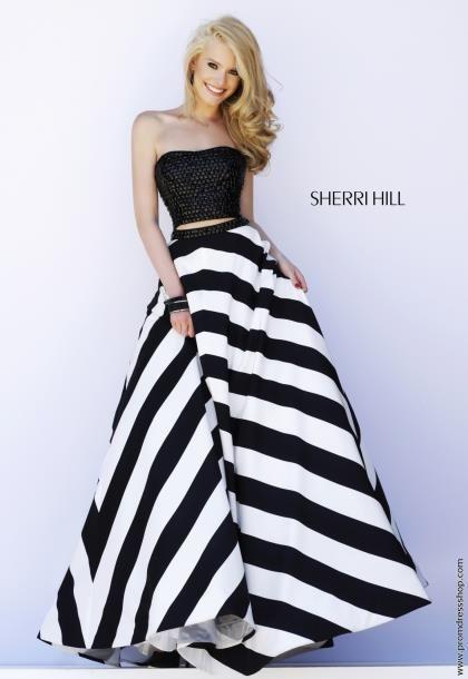 Blonde White Formal Dresses