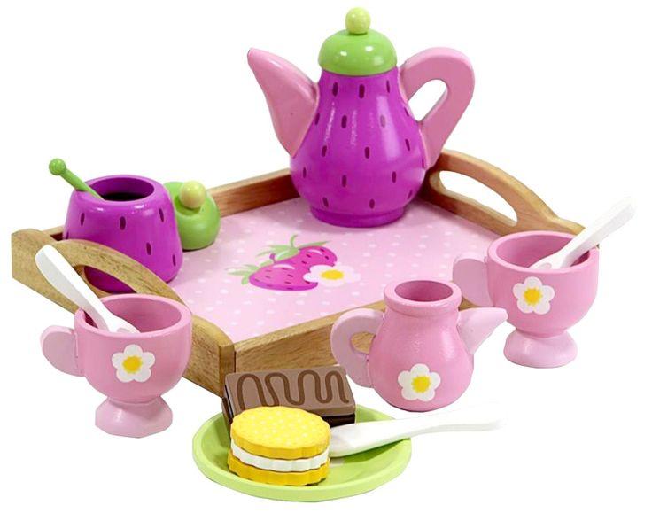 Lelut - Lasten puinen teeastiasto