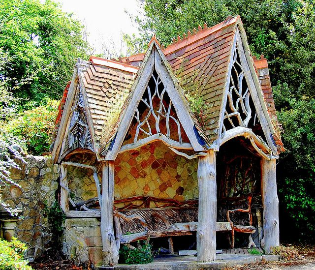 Whimsical Garden Shelter
