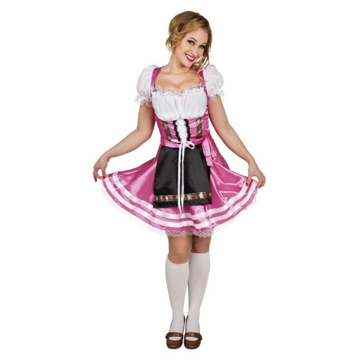 Roze Oktoberfest Jurkje Helena   - Main image
