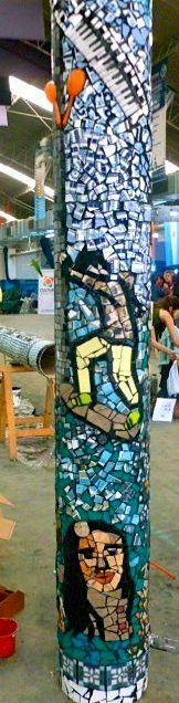 PVC Pipe created with Barrio CCG Berazategui Argentina 2013