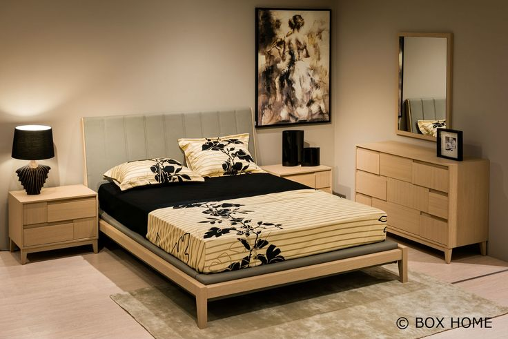 Σετ Κρεβατοκάμαρας RIVIER περιλαμβάνει: κρεβάτι διπλό, τουαλέτα & καθρέπτη  bedroom style