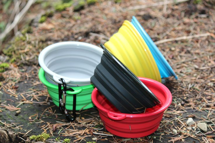 Northern Outback travel pet bowls