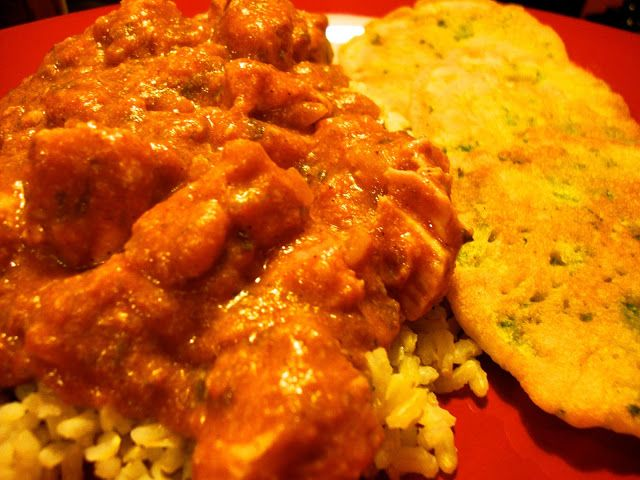 In Mo's Kitchen: Wild Rose Detox Butter chicken and chickpea flat bread