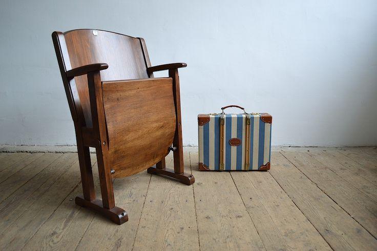 Old cinema chair (artKRAFT Industrial design)
